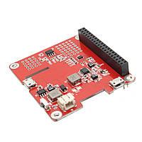 Geekworm Power Pack Pro V1.1 ИБП HAT Lithium Батарея Плата расширения для Raspberry Pi Поддержка I2C/Android Зарядка телефонной трубки