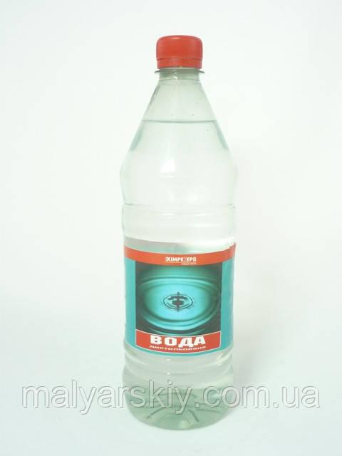 Дистильована вода Полюс 1л  ХІМРЕЗЕРВ