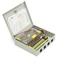 DC 12V 120W 9-канальный 8-канальный охранный источник питания CCTV камера LED Блок питания для проводов Коробка