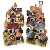 Кукольный домик Миниатюрный Набор Сад Кукольный домик Micro Пейзаж DIY Мини-замок модель игрушка Домашнее украшение подарок