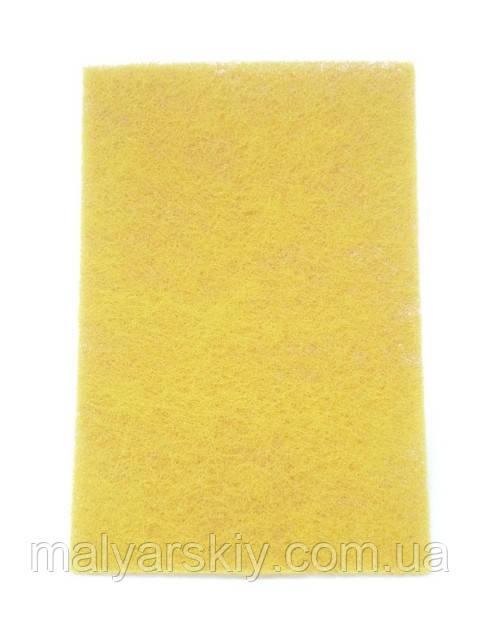 Скотч-брайт шліфувальне волокно 150*230мм  ЖОВТИЙ Р1000  SMIRDEX