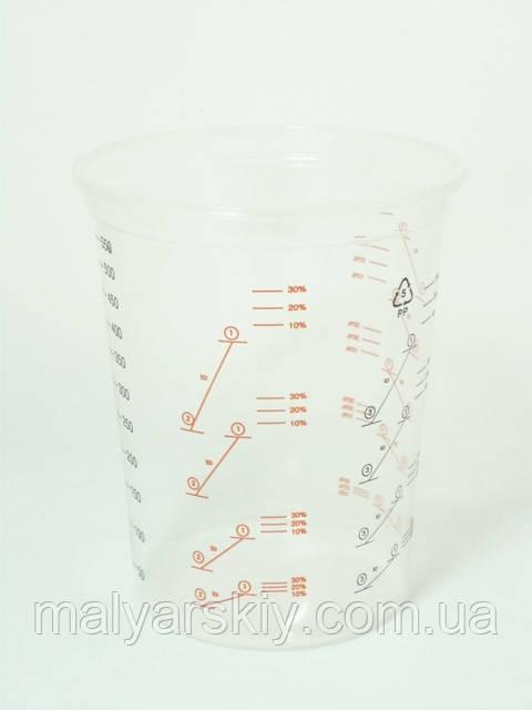 Мірний стакан для змішування фарб  600мл  NCP