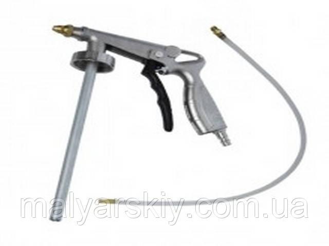 0703-РT Пістолет під антигравій пневматичний з гнучкою насадкою  INTERTOOL
