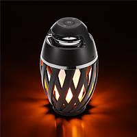 A1НаоткрытомвоздухеАтмосферапламени Лампа Кемпинг LED Мерцание Водонепроницаемы Стерео Bluetooth Динамик