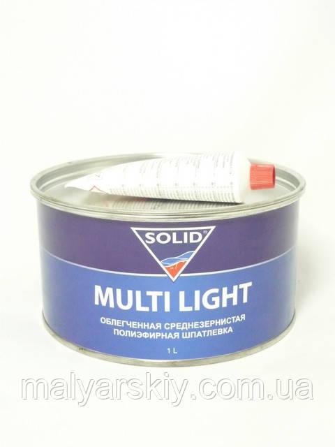 Шпаклівка полегшена універсальна MULTI LIGHT 1кг SOLID