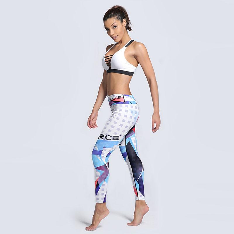 30dd6468682d2 Женские спортивные лосины Farce, одежда для фитнеса, леггинсы, лосіни, для  бега,