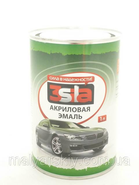 394 Темно-зелена АКРИЛОВА ФАРБА 3Sila 1л*