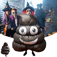 HalloweenPartyДомашнееукрашениеCosplayFunny Emoji Надувная одежда для детей Детский подарок