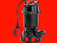 Yato YT-85350 погружной чугунный фекальный насос для канализации с измельчителем 750Вт