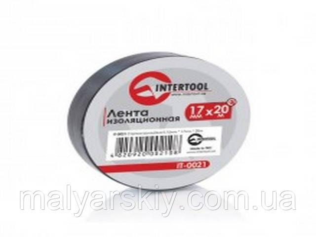0026- IT Ізоляційна стрічка 17мм*20м  INTERTOOL