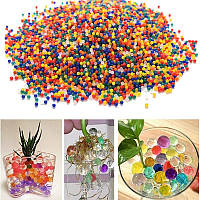 10000шт/Сумка Жемчужно-кристаллическая почва Волшебный Растительные шарики для молодняка Гидрогель Гель Бусины из полимерной воды для Рас