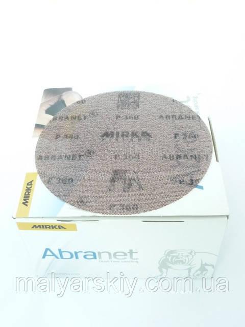 Абразивний круг сітка  ABRANET  150мм   P120*  MIRKA