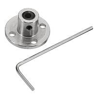 6 мм Фланцевое соединение Оптическая опора Опорная неподвижная стальная сталь Жесткий фланец Пластина Вал Коннектор