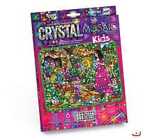"""Набор для творчества """"CRYSTAL MOSAIC KIDS"""" """"Мозайка из кристаллов"""""""