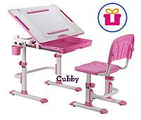 Растущая парта для дома Cubby KARO Pink