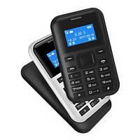 AEKU C8 0,96-дюймовый 500mAh MP3 GPRS Низкое излучение One Ключ быстрого набора с длинными ожиданиями Мини-телефон с картой телефона