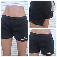 Женские шорты черные