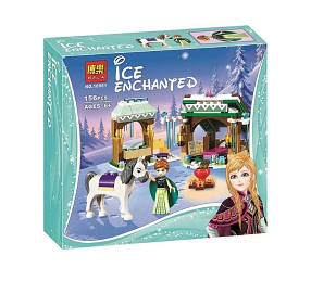 Конструктор Bela 10661 Frozen Зимние приключения Анны (аналог Lego Disney Princess 41147)