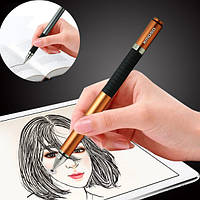 Kmoso Universal 2 in 1 Емкостный стилус Алюминий Ручка Сенсорный экран Ручка Для iPad Смартфон