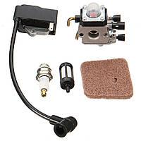 Карбюратор с катушкой зажигания для STIHL FS38 FS45 FS46 FS55 KM55R FS45C FC55 Триммер
