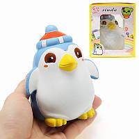 Xinda Squishy Penguin 12см Медленное восхождение с упаковкой Симпатичные коллекции животных Подарочный декор Мягкая игрушка