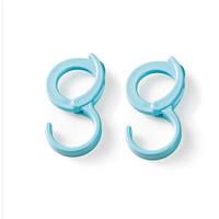 2шт Honana BS-453 ABS Пластиковая форма S Полотенце Крюк Многофункциональное симпатичное пальто Шапка Сумка Держатель декора Вешалка