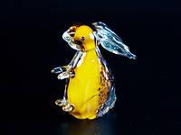 Статуэтка Заяц художественное стекло