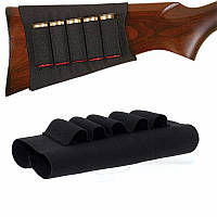 Охотничьи тактические ручные мешки 5 патронов для патронов Держатель для держателей эластичный Сумка