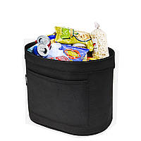 Экологичный Mini Nylon Лента Авто Мусорный ящик Оксфордская ткань Утолщение портативных мусорных баков Сумка