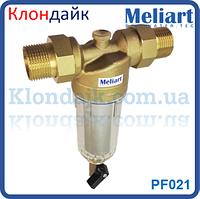 Фильтр для холодной воды механической очистки самопромывной Meliart 1