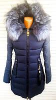 Женская зимняя куртка Чернобурка   12-83