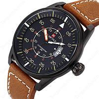 Мужские часы Naviforce Lost модель NF9044mbby, цвет корпуса черный, фото 1