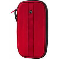 Тревеллер на молнии с RFID защитой TRAVEL ACCESSORIES 4.0 Red красный 13х26