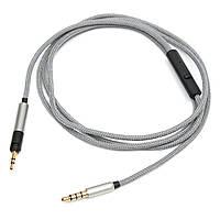 Кабель Дистанционный и микрофон для Sennheiser Momentum 1.0 2.0 Более Уши On-Уши Наушники 1.2M
