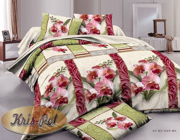 Комплект постельного белья семейный ранфорс (хлопок) TM KRISPOL Украина, фото 2