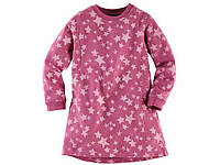 Платье туничка малиновая в звездочки Lupilu 4-6 лет