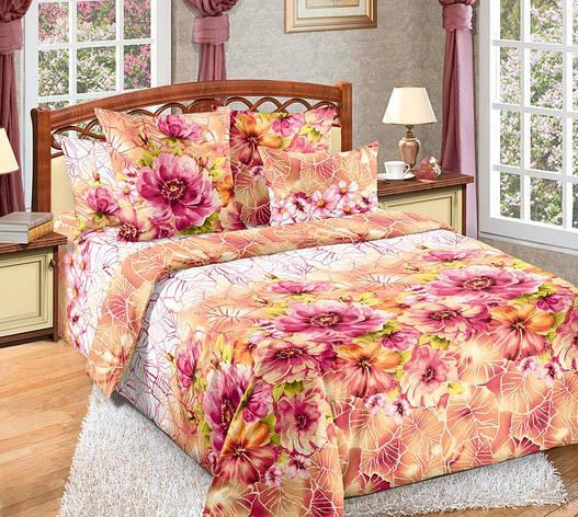 Семейный комплект постельного белья Акварель, фото 2