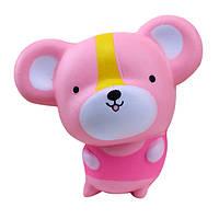 Meistoyland 10cm Squishy Розовый Крыса Slow Rising Soft Kid Toy Collection Подарочный Декор Игрушка