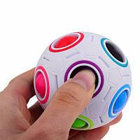 СферическаяформаFidgetRainbowВолшебныйФутбол Cube Уменьшить стресс игрушки