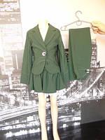 Школьная форма зеленая 140-164