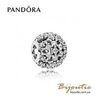 Pandora Шарм СНЕГОПАД #796378CZ серебро 925 Пандора оригинал