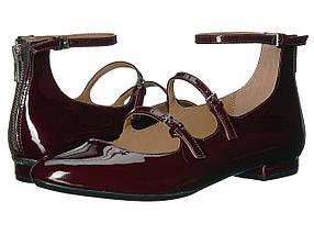 Туфли без каблука (Оригинал) Calvin Klein Gavinia Oxblood Patent