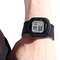 ЭлектронныйшагомерSmartWatch3D-шагомерБраслет Силиконовый Лента спортивные часы