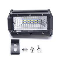 5-дюймовый 72W DC10-30V LED Бар с подсветкой 60 градусов Противотуманные фары Водонепроницаемы IP67