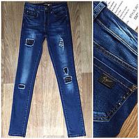 Женские джинсы синие норма