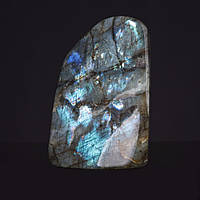 Лабрадор натуральный камень интерьерный сувенир 12х7х4см  0,98кг