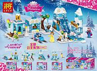 Конструктор Lele 37025 Принцессы Зимние развлечения 4в1 (аналог Lego Disney Princess)