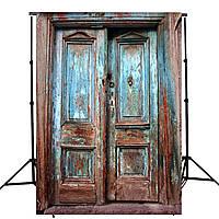 5x7FT Винил Ретро Дверь Фотосъемка Фон Фон Студия Prop