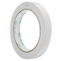 5 штук 1.5cmx20m Двухсторонняя лента Roll Strong Adhesive Sticky DIY Ремесла Канцелярские товары