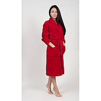 Домашняя одежда Tac - Халат махра бамбук Maison 3D kirmizi 2XL/3XL